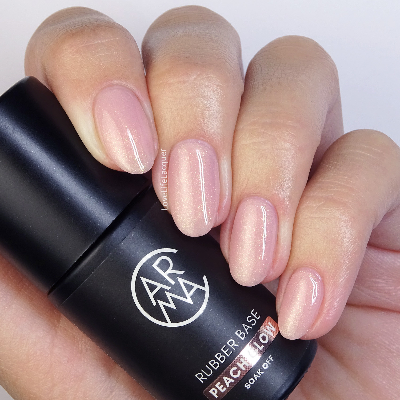 CARMA Rubber Base Peach Glow