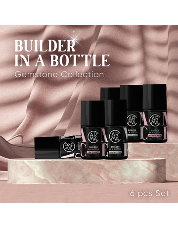 CARMA   Gemstone Builder in a Bottle  Collection 6 pcs Set