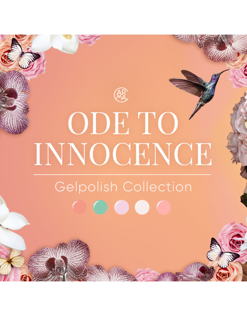 CARMA   Ode to Innocence Gelpolish Collection 5pcs Color Box