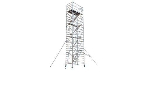 Tour d'escalier échafaudage