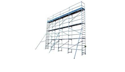 Échafaudages de façade
