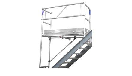 Échafaudage d'escalier