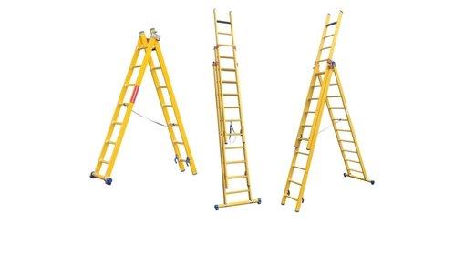 Glasvezelversterkte ladders
