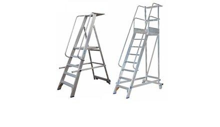 Escaliers de rayonnage