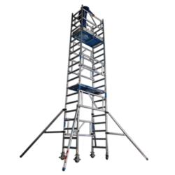 ASC XS-Tower échafaudage hauteur de travail 6,20 m