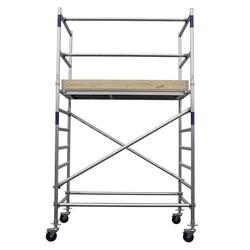 Echafaudage roulant Basic-Line hauteur de travail 4,3 m (type 0)