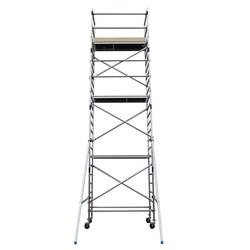 Echafaudage roulant Basic-Line hauteur de travail 8,3 m (type 3.1)