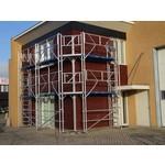 ASC Echafaudage de facade 100 m² - 0,90 m x 10,00 m x 10,00 m