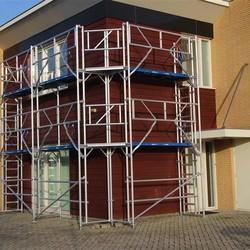 Echafaudage de facade 100 m² - 0,90 m x 10,00 m x 10,00 m