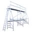 ASC Echafaudage de peinture 5 x 5 m hauteur de travail