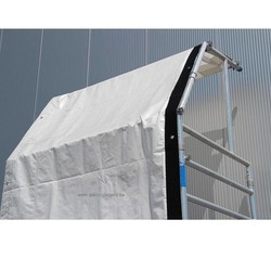 Zeil voor regenkap / doorwerkkap