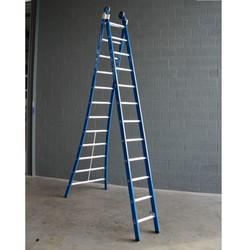 ASC Premium ladder uitgebogen 2x10 sporten