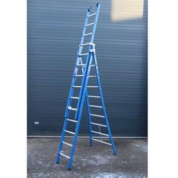 ASC Premium ladder uitgebogen 3x8 sporten