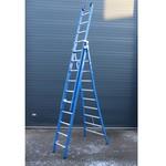 ASC ASC Premium ladder uitgebogen 3x10 sporten