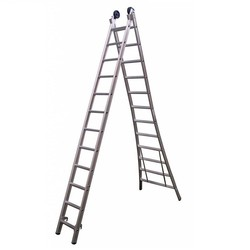 SuperPro 2-delige reform ladder 2x14 sporten