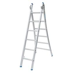Solide omvormbare ladder 2x6 sporten