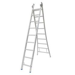 Solide omvormbare ladder 2x9 sporten