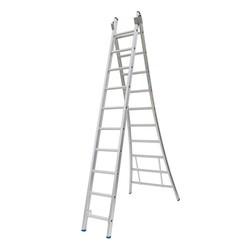 Solide omvormbare ladder 2x10 sporten