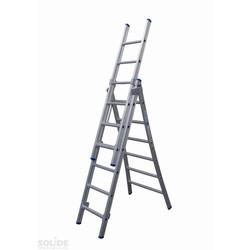 Solide omvormbare ladder 3x6 sporten