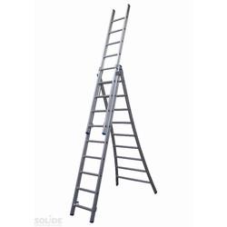 Solide omvormbare ladder 3x9 sporten