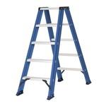 Das Ladders Das Hercules blue escabeau double 2x5 marches DT5B