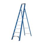 Das Ladders Das Hercules blue escabeau 8 marches ET8B