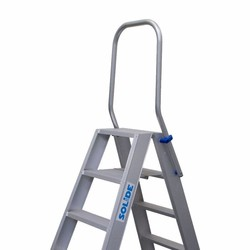 Neerklapbare beugel voor Solide dubbele trap