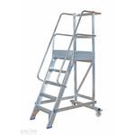 Solide Solide escalier de rayonnage 5 marches MBT05