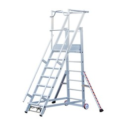 Tubesca 2271 escalier de rayonnage 7 marches