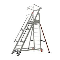 Tubesca 2271 escalier de rayonnage 8 marches