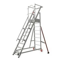 Tubesca 2271 escalier de rayonnage 9 marches