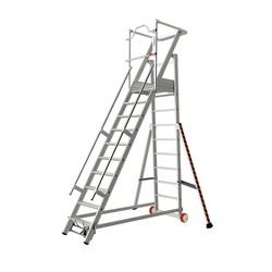 Tubesca 2271 escalier de rayonnage 10 marches