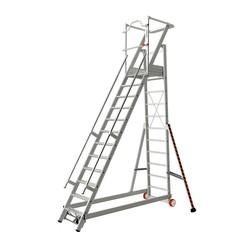 Tubesca 2271 escalier de rayonnage 12 marches