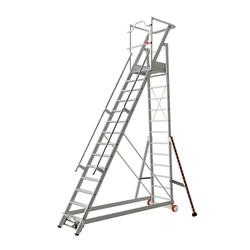Tubesca 2271 escalier de rayonnage 14 marches
