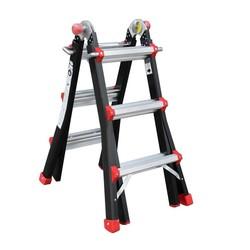 Big One telescopische ladder 4x3 Tactic-Pro