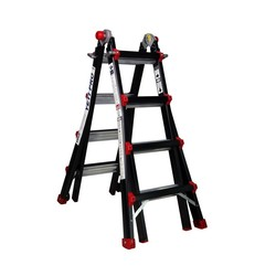Big One telescopische ladder 4x4 Tactic-Pro