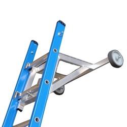 Ecarteur de mur en aluminium pour échelle