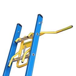 Ladder wandafhouder staal