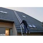 Solide Solide échelle de toit set 7 m