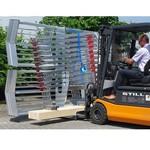 Roof Safety Systems RSS dakrandbeveiliging 30 meter + transportframe