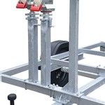 Euroscaffold  Support 2 roues d'échafaudage