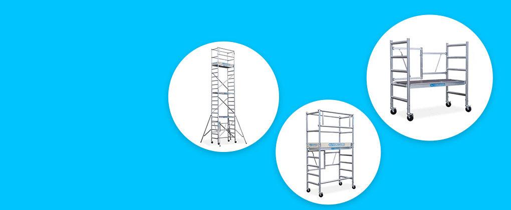 Échafaudages pliable pour toutes les applications!Professionnel & Bricolage