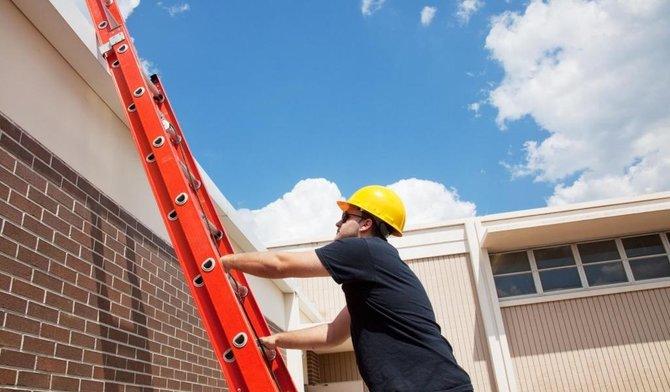 Een ladder veilig opstellen in 5 stappen