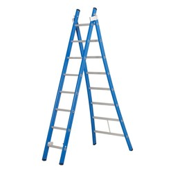 Das Ladders Atlas blue 2-delige ladder 2x8 sporten
