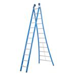 Das Ladders Echelle 2 plans 2x12 échelons Das Ladders Atlas blue