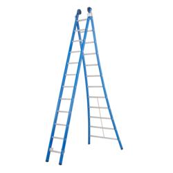 Das Ladders Atlas blue 2-delige ladder 2x12 sporten