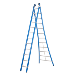 Echelle 2 plans 2x12 échelons Das Ladders Atlas blue
