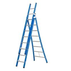Das Ladder Atlas blue 3-delige ladder 3x8 sporten