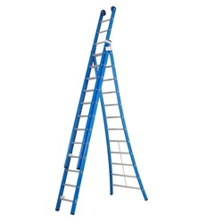 Echelle 3 plans 3x12 échelons Das Ladders Atlas blue