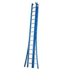 Echelle 3 plans 3x14 échelons Das Ladders Atlas blue